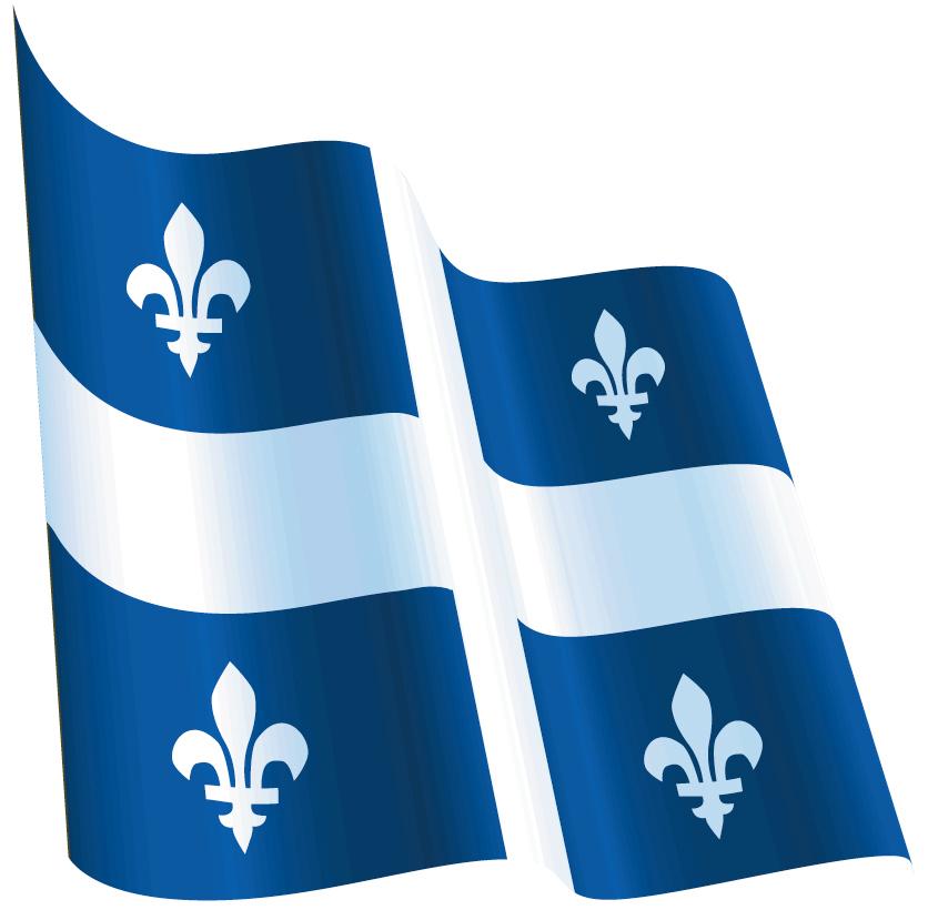 quebec flag gif: